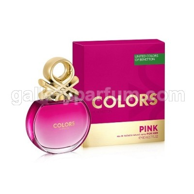 Benetton United Colors Pink For Women EDT 80ml